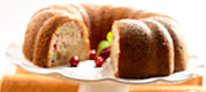 Cranberry Walnut Pound Cake