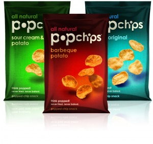 3 bags of Popchips