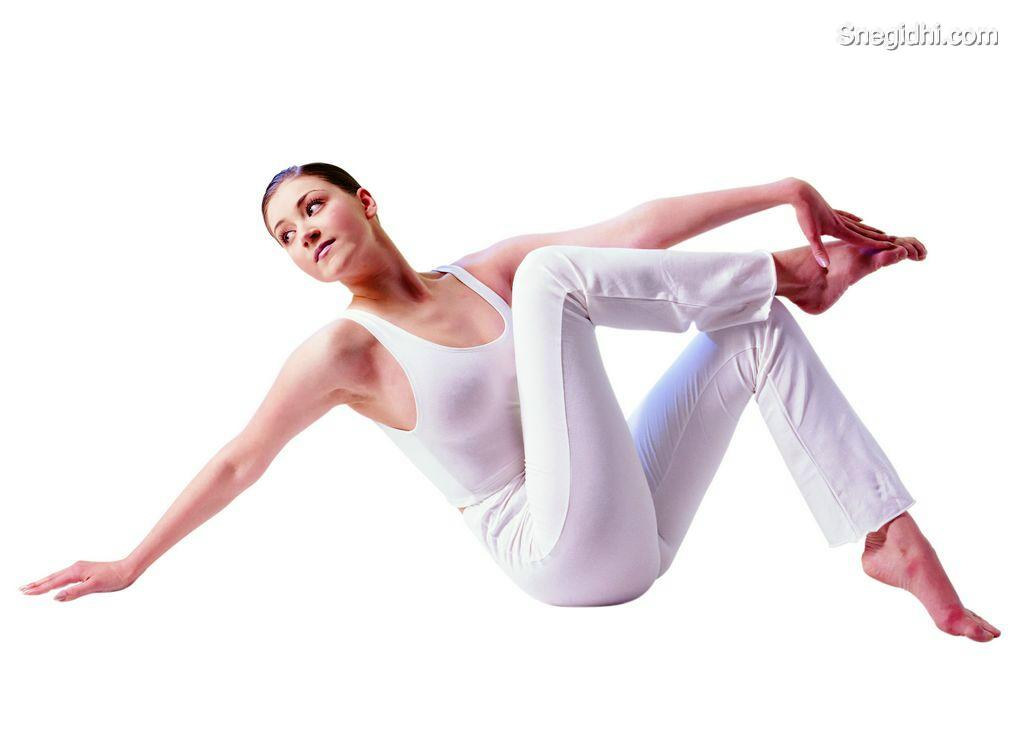 Fitness: Woman doing excercise