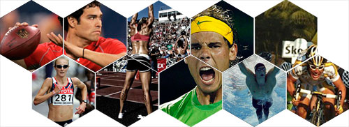 Mark Sanchex, Rafa, Paula Radcliffe, Michael Phelps Pro Athlete Images