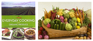 Melissa's Baby Veggie Basket & Cookbooks