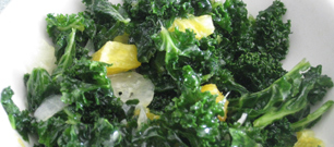 RAW KALE SALAD with ORANGES