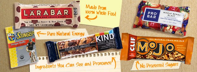 Superbe Natural Energy Bars Image