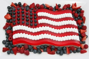 Best Red, White & Blue Dessert for Memorial Day Weekend!
