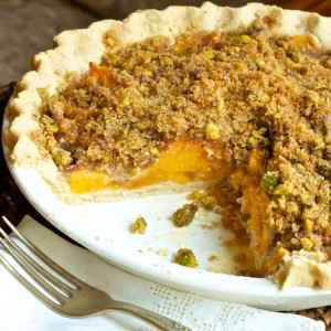 Healthy Pieach Pie