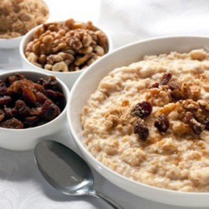 oatmeal raisins cinnamon