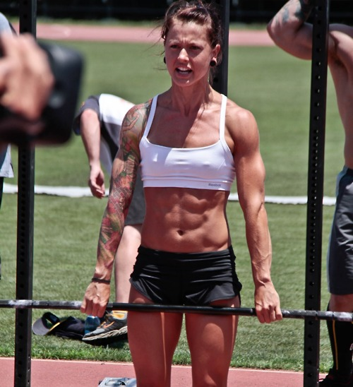 Crossfit Body Women Amazing Abs