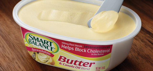 The new Smart Balance Spreadable Butter is one of the heart-healthier ...
