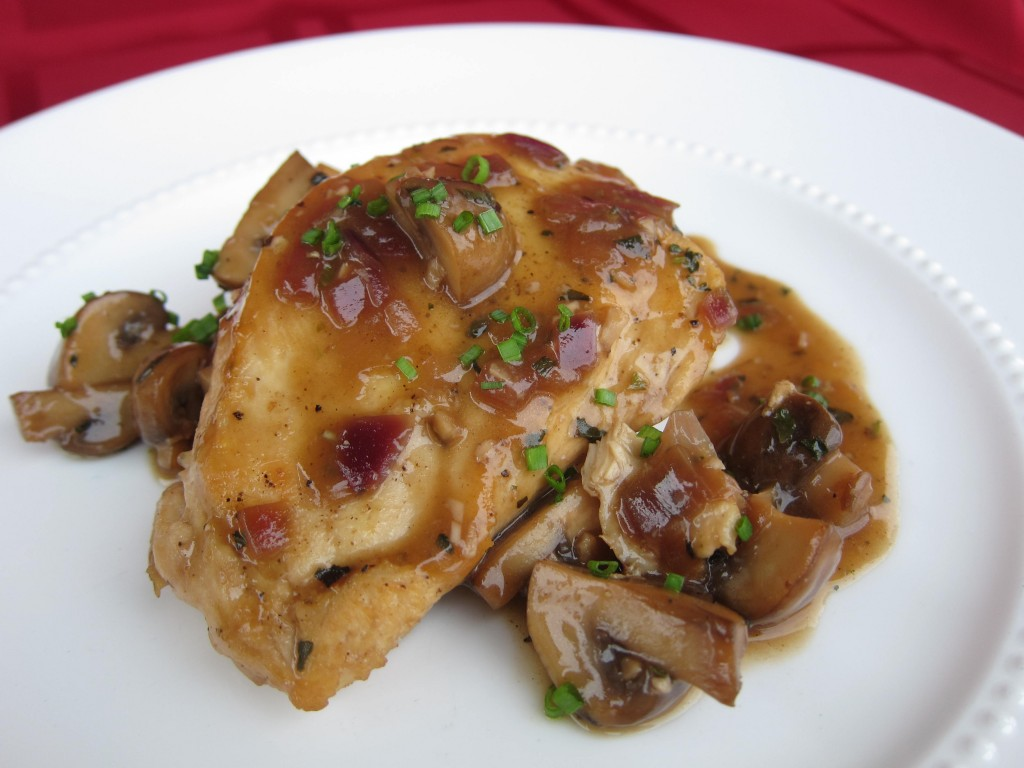 Chicken Marsala with Crimini Mushrooms and Garlic