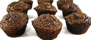 Skinny Dark Chocolate Brownie Bites