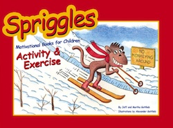 spriggles exercise book for kids