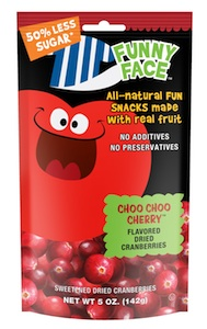 Funny Face Dried Cranberries