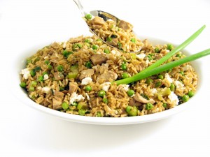 Skinny Chicken Fried Rice
