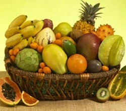 Melissa's tropical fruit basket