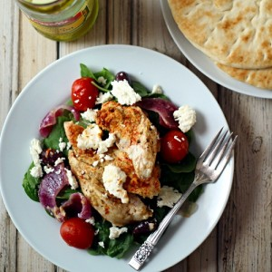 healthy baked greek chicken recipes