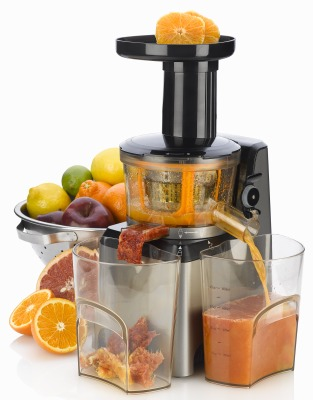 Win a Fagor Slow Juicer Platino!