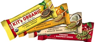 Win Kit's Organic Fruit + Seed Snack Bars!