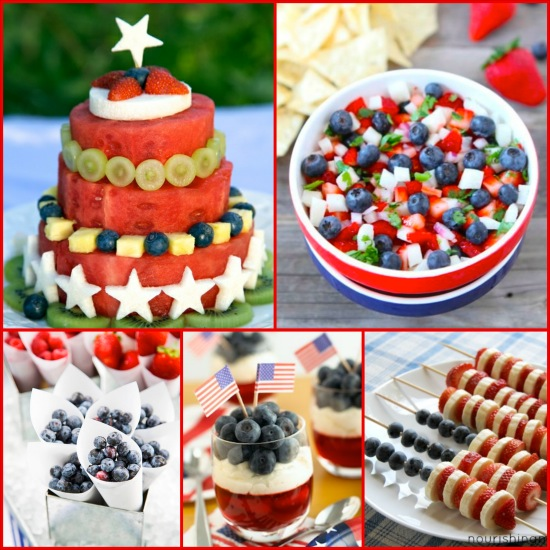 Healthy And Festive 4th Of July Recipes