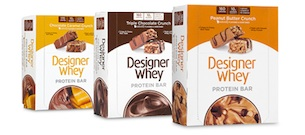 Win Designer Whey Protein Bars