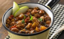 Apple Turkey Chili (A Game Day Favorite!)