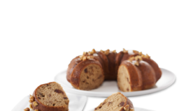Banana Date Walnut Bundt Cake