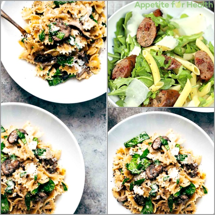 healthy pasta dinners