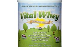 Enter to Win Vital Whey Protein Powder!